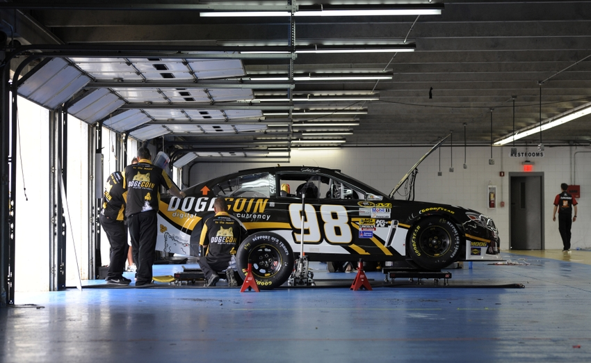 Nascar 39 s having a really bad week for Garage sprint auto stains