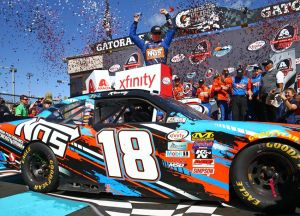 Rookie Byron Wins Nascar Xfinity Le Ahead Of Cup Graduation Autosport