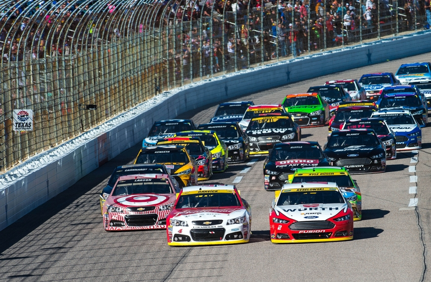 Nascar five drivers most likely to win at texas for Nascar race tickets texas motor speedway