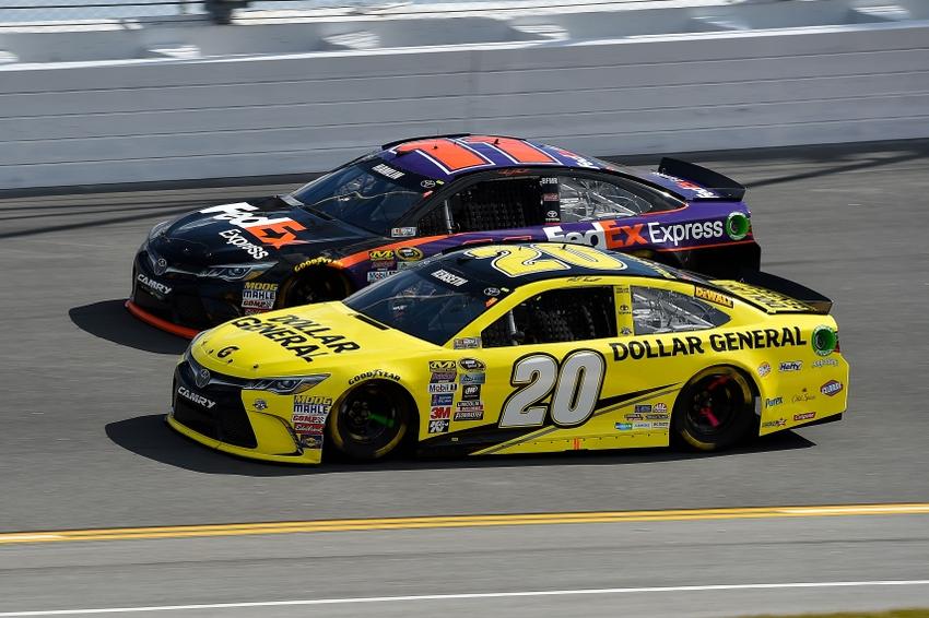 Pin By Deborah Mann On Nascar: NASCAR: JGR Talks Extension With Hamlin, Kenseth's Future