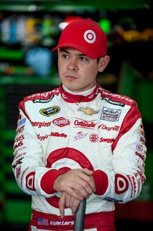 Kyle Larson, first Cup race.