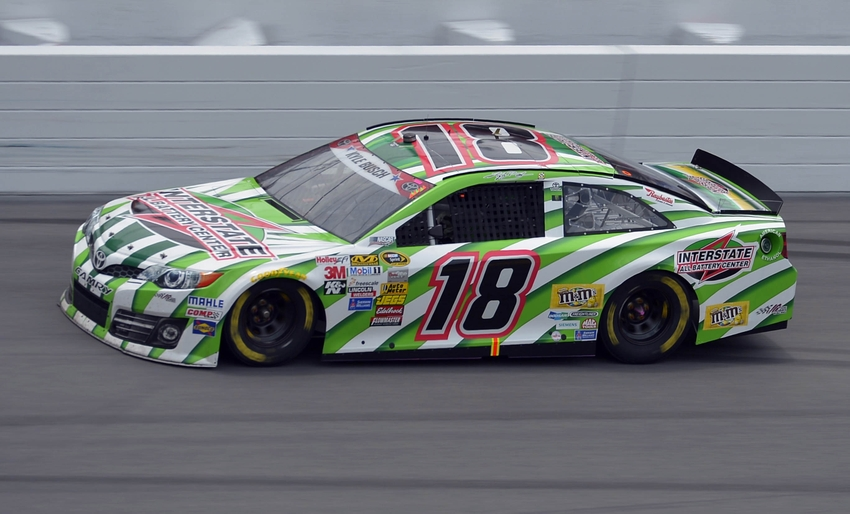 Kyle Busch Claims Pole At New Hampshire With New Track Record
