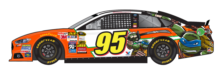 Nascar Paint Scheme Preview Oral B 500 From Atlanta