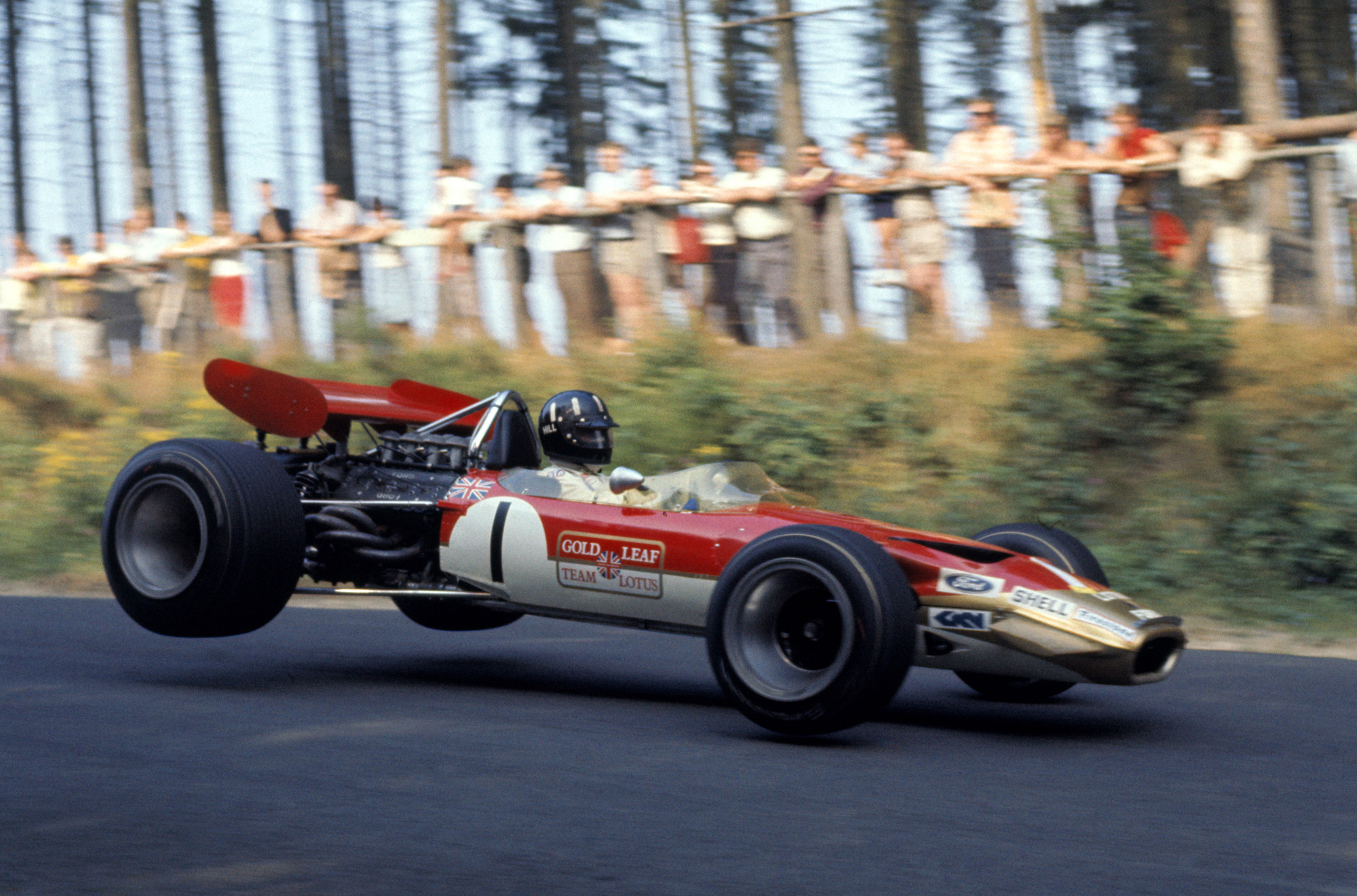 The 50 Best Looking Formula One Cars: No. 45 - No. 41