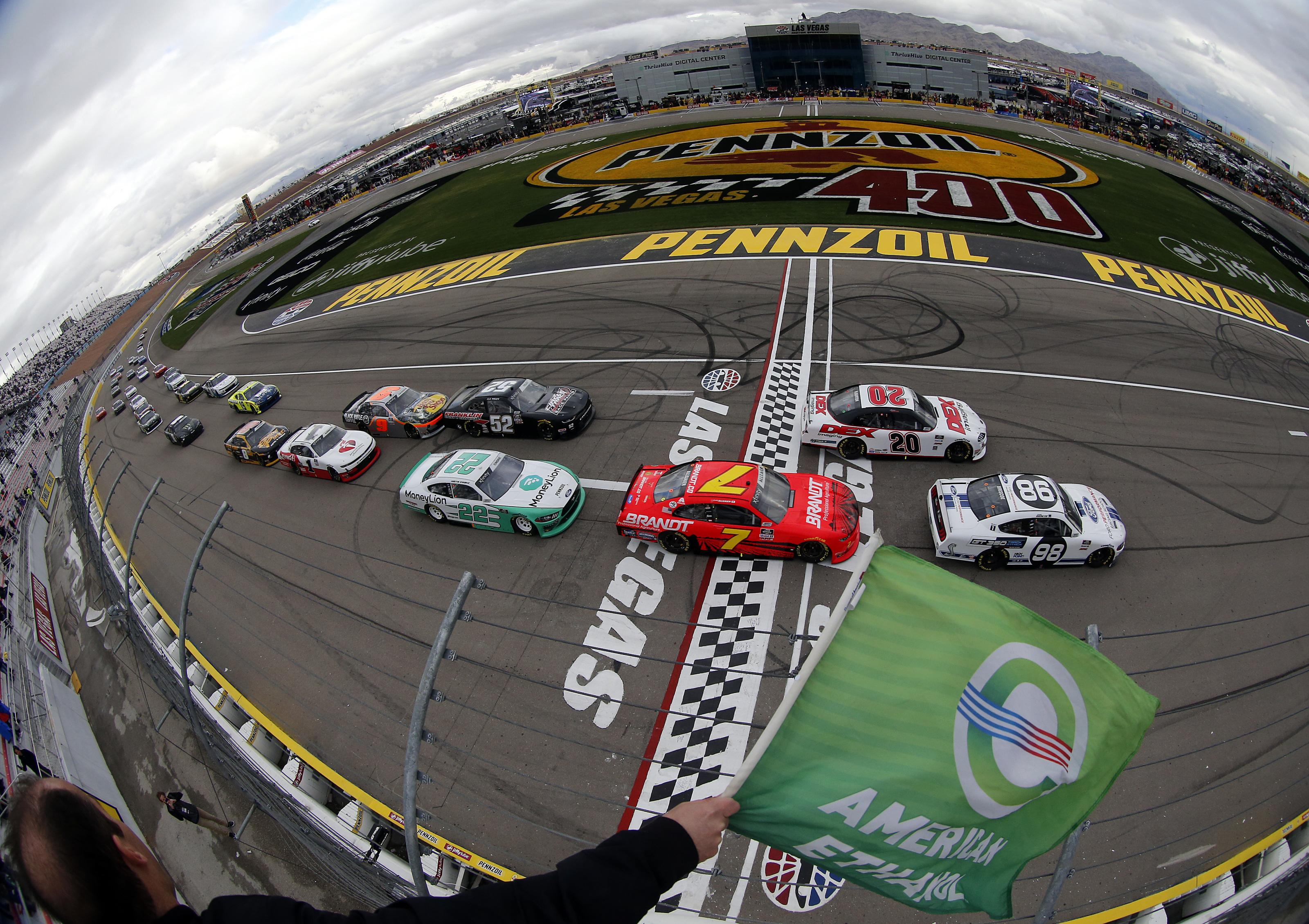 Rain postpones another NASCAR race