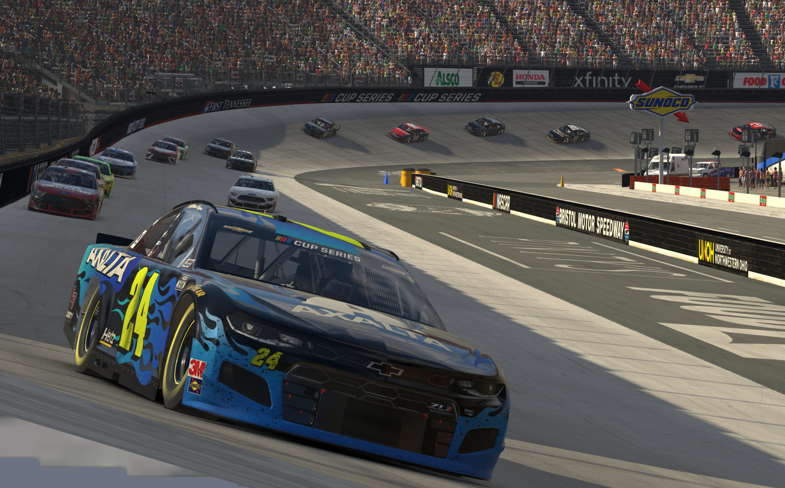 NASCAR: Unofficial iRacing standings after Bristol