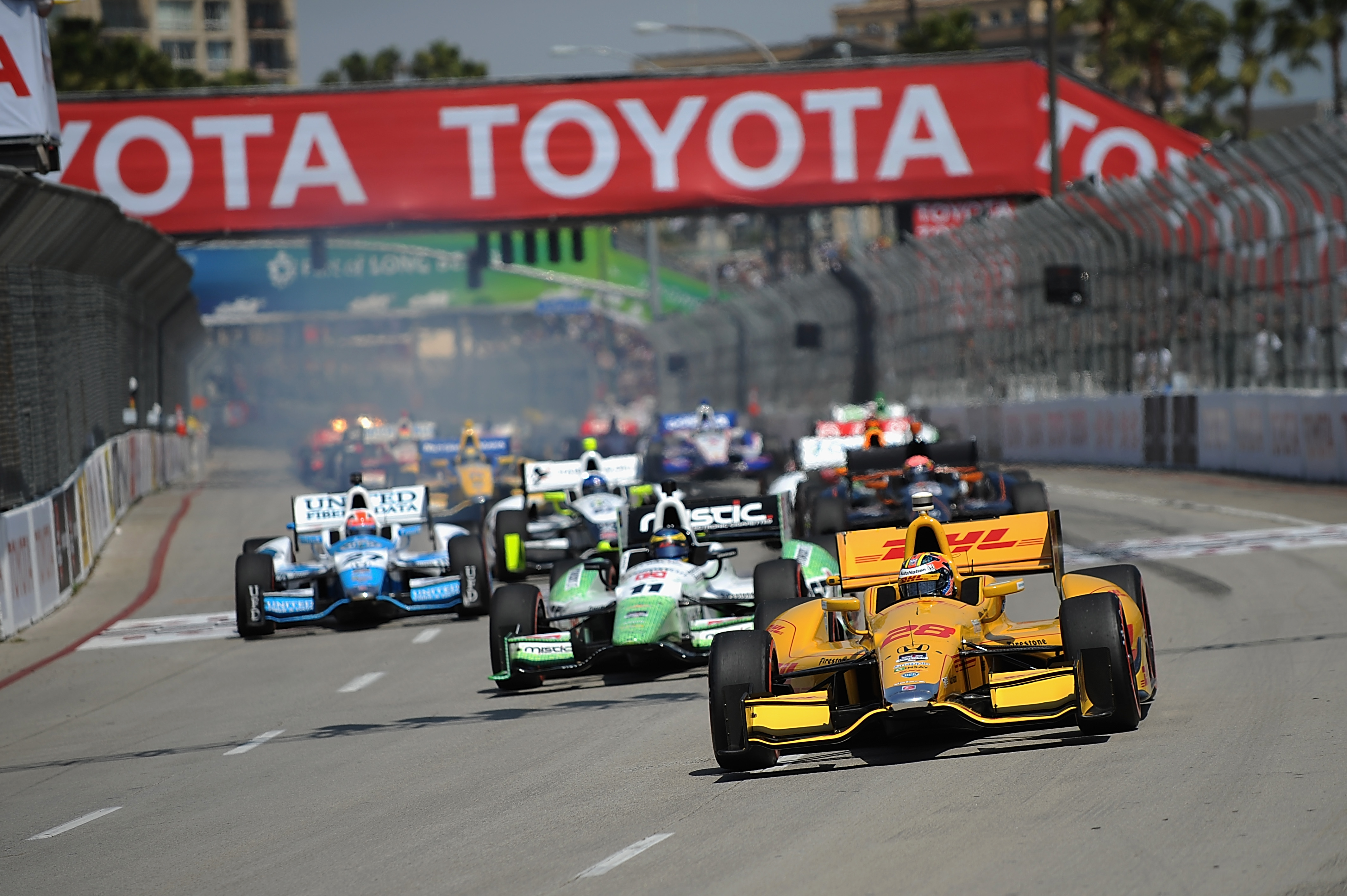 Toyota Grand Prix Of Long Beach Winner