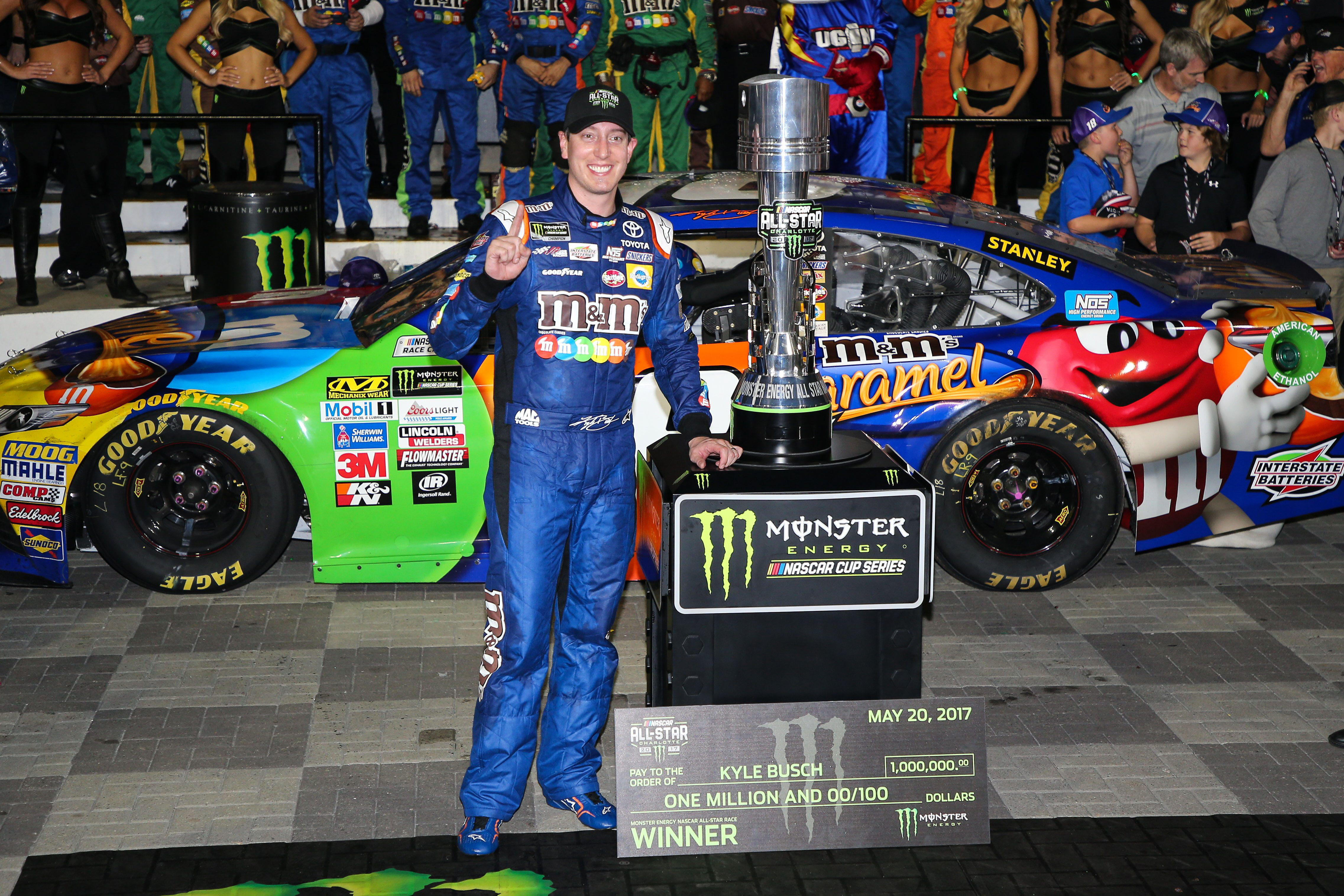 NASCAR: Driver Grades from the All-Star Race at Charlotte