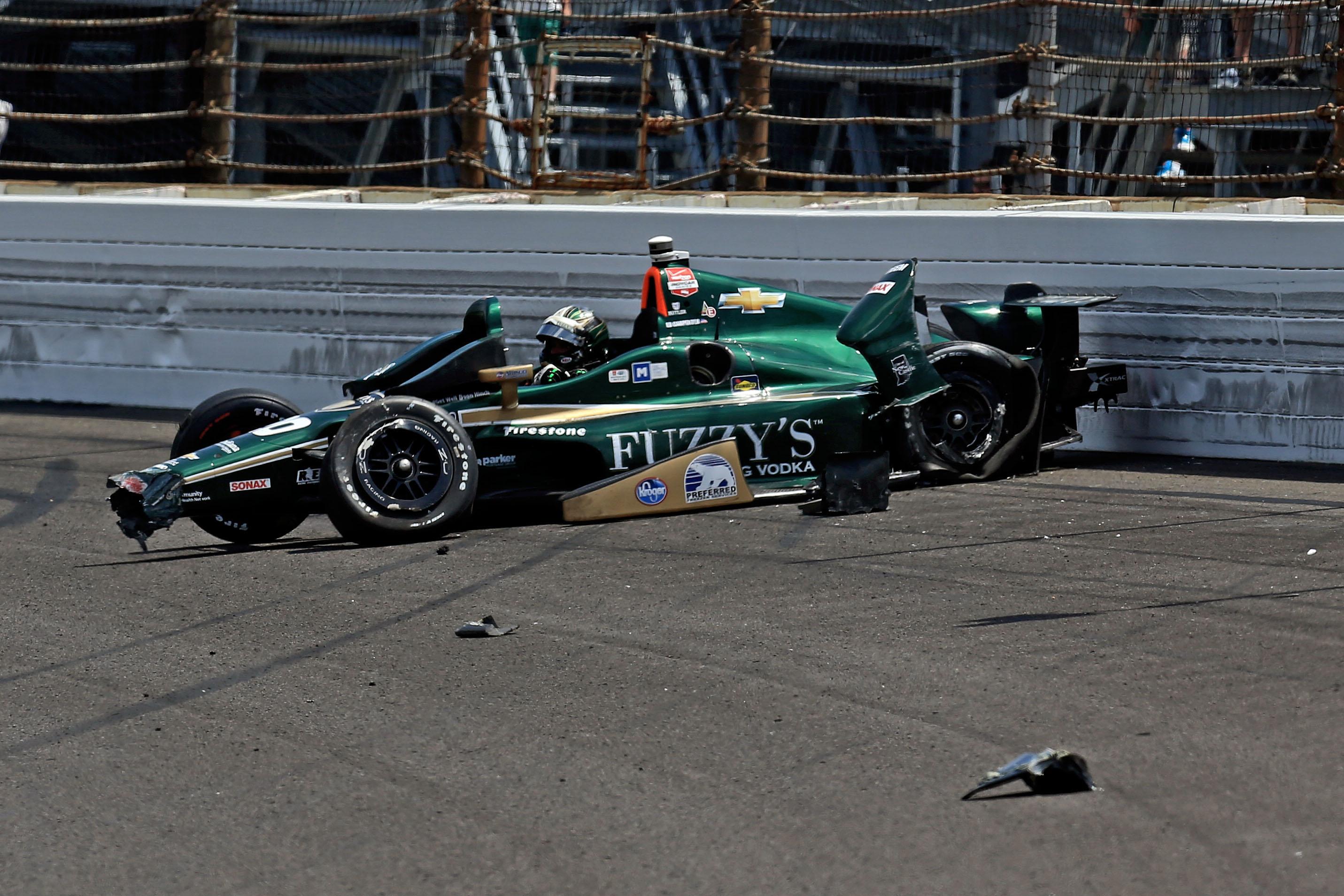 Indycar Crash