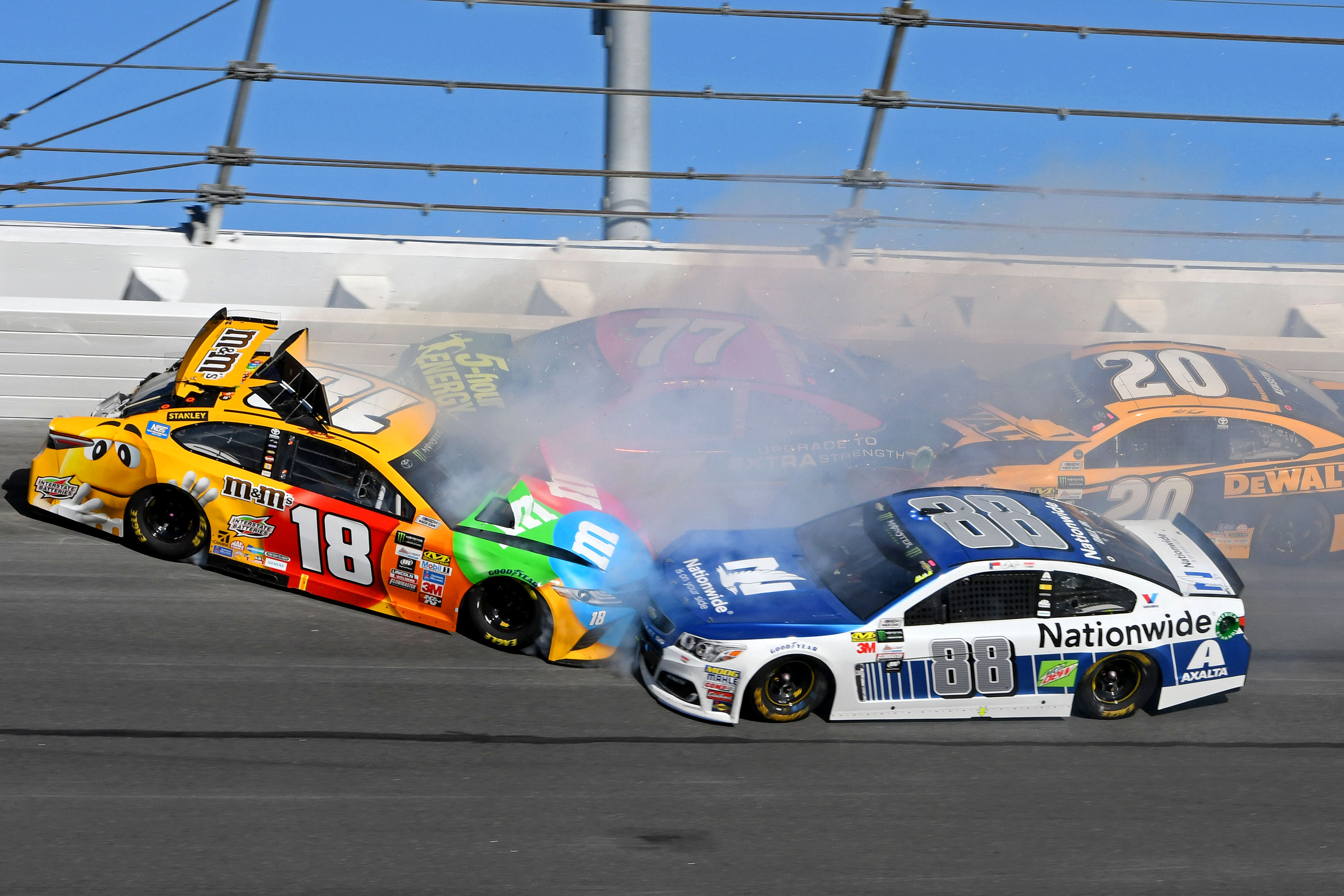 danger and nascar Danger and nascar i had never even heard of dale earnhardt until he crashed into eternity, but now here i am writing a column about him (king, 64) this reaction, recorded by florence king in national review, seems to be a common one since earnhardt's death in the daytona 500.